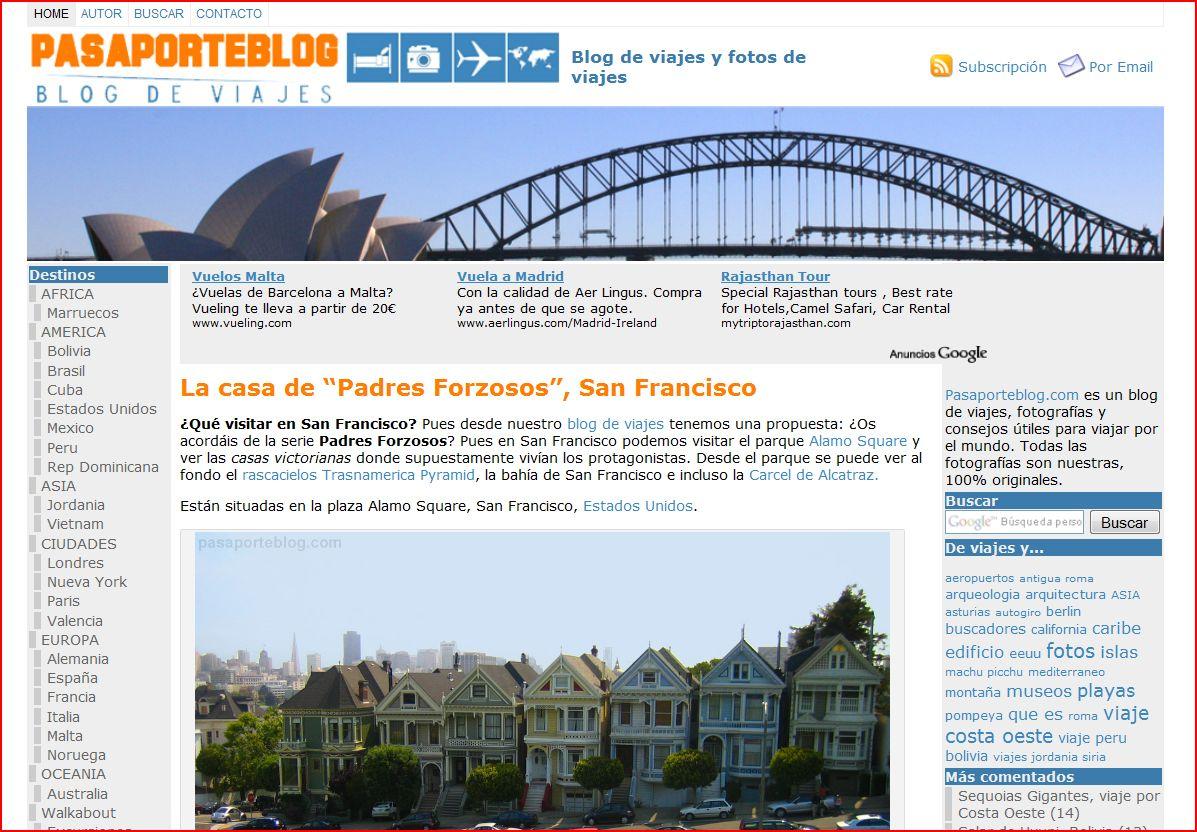 y así es de momento nuestro blog de viajes PASAPORTEBLOG.COM