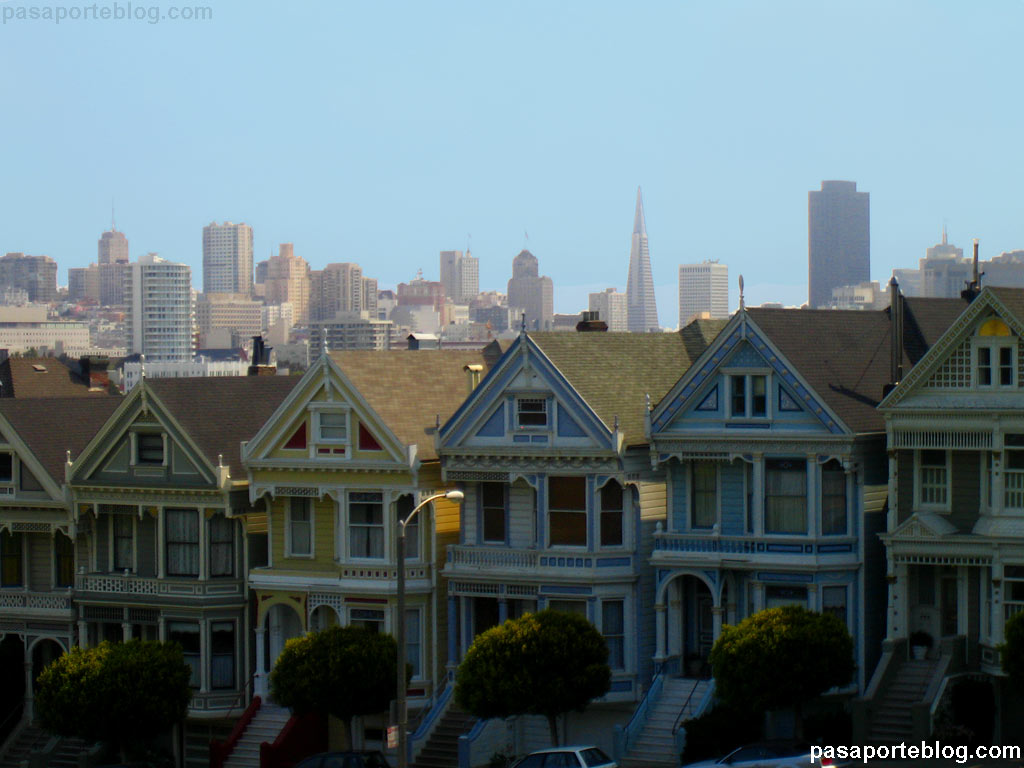 Painted Ladies, casas victorianas en san francisco