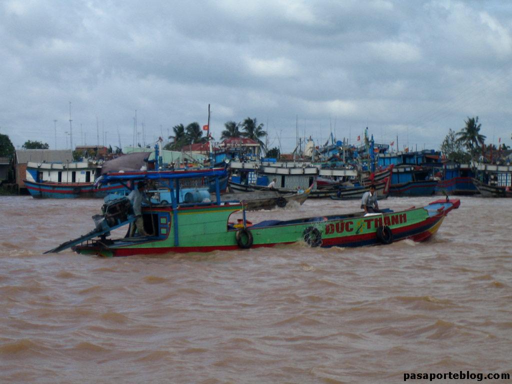 Mercados flotantes de Can Tho, Delta del Mekong