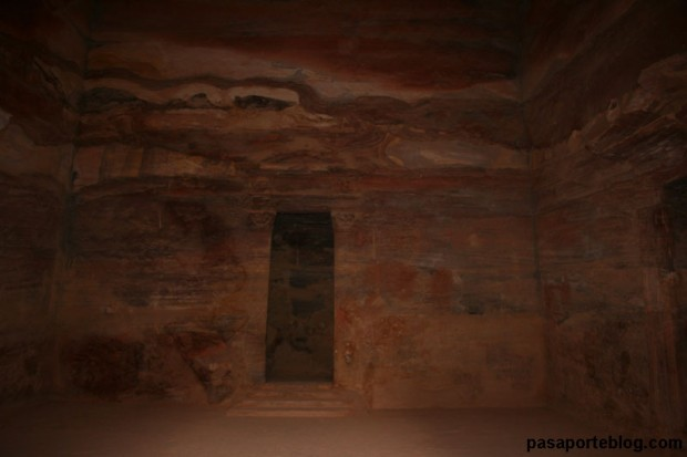 Interior del templo de Indiana Jones y la Última Cruzada, Petra