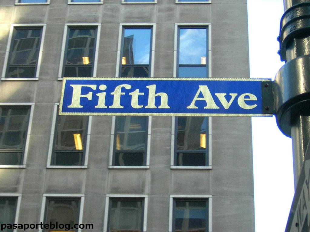 La quinta avenida, todas las marcas del mundo