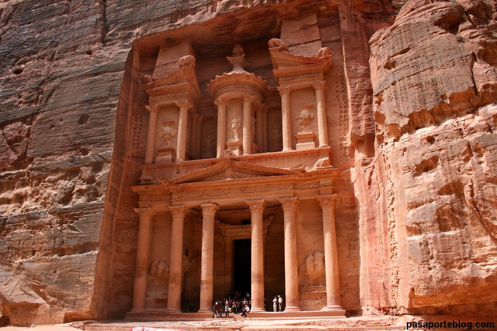 Petra, Templo del Tesoro, viaje Jordania
