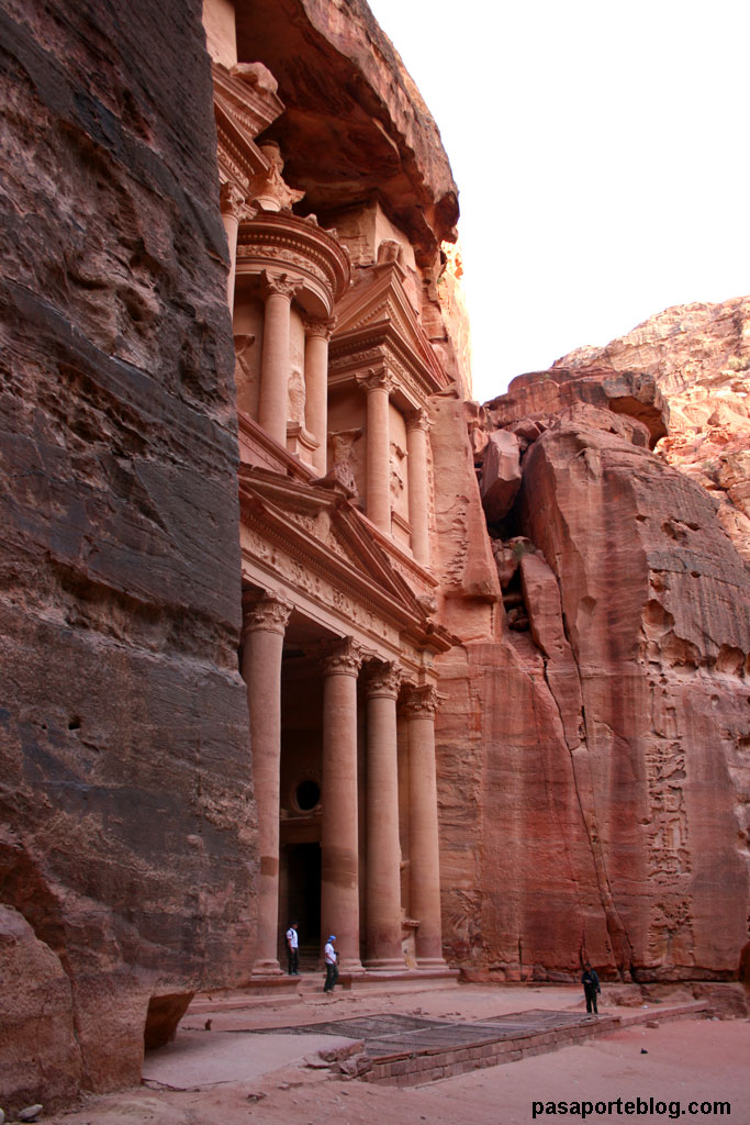 Entrada a la ciudad de Petra, viaje a Jordania