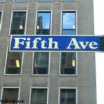 La quinta avenida 5th ave