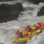 Rafting extremo en el río Zambeze, Zimbawe y Zambia