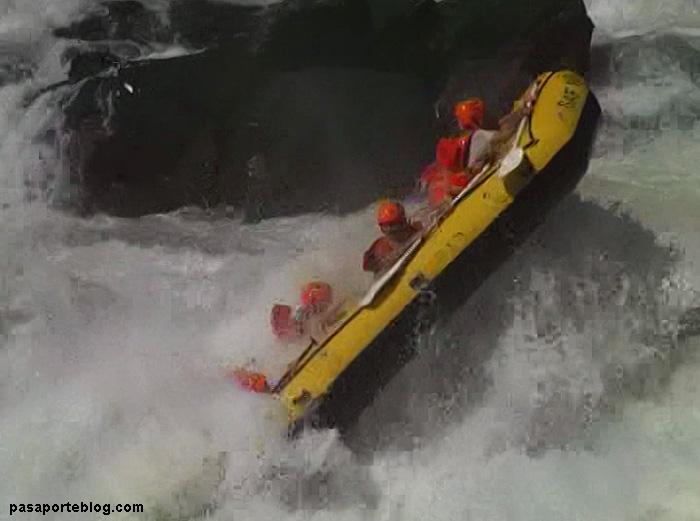 El rafting más extremo del mundo, rio Zambeze