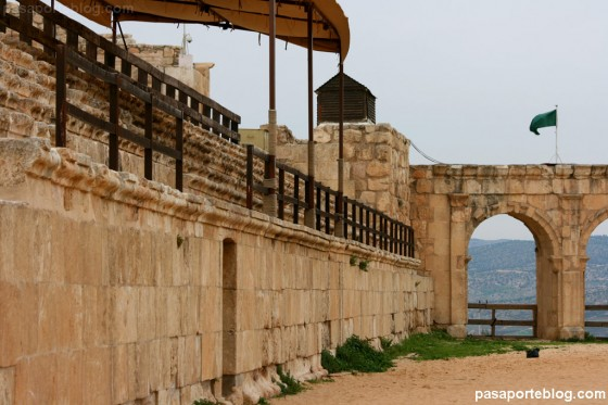 Gradas en hipodromo romano jerash jordania