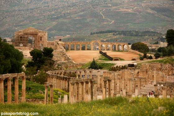 hipodromo jerash viaje a jordania