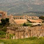 Hipódromo romano en Jerash, Jordania