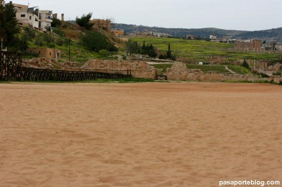 siria jordania la arena del hipodromo de ben-hur