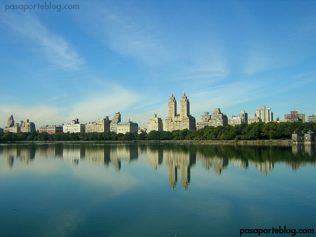 skyline de eastside central park nueva york