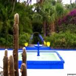 Jardín Majorelle o de Ives Saint Laurent, un rincón en Marrakech