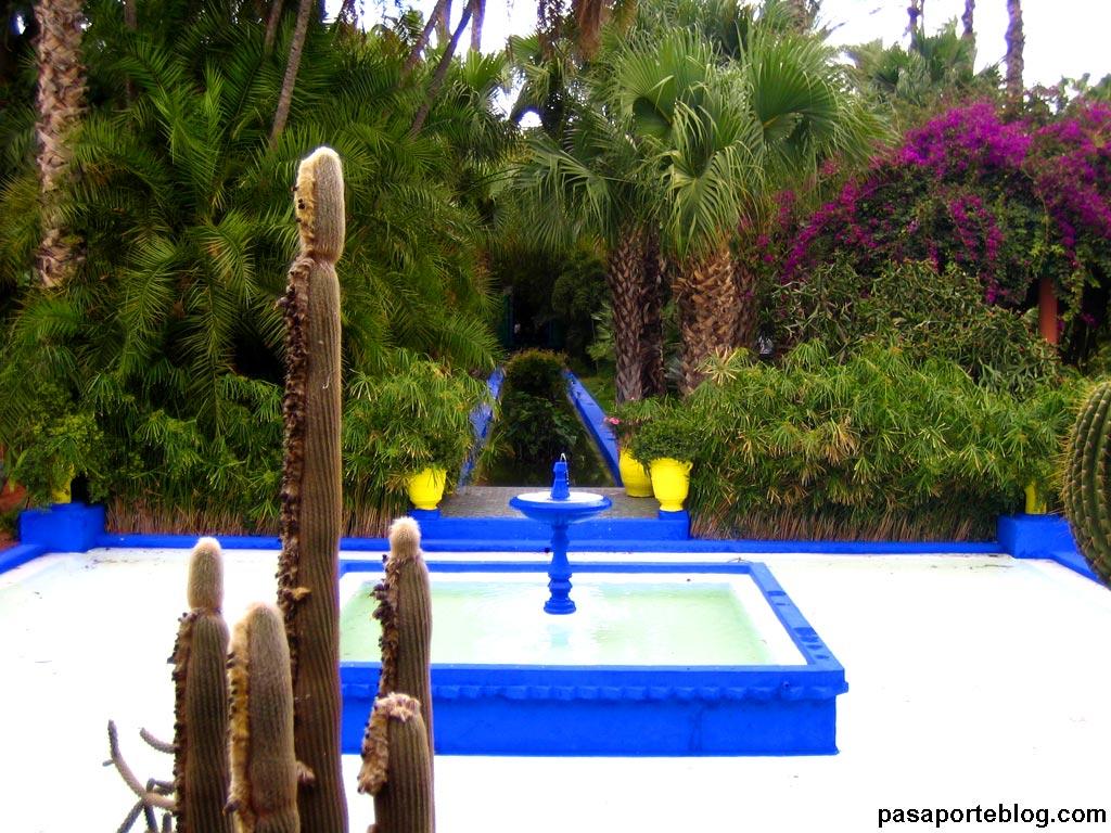 Excursion y rutas en marruecos for Jardin yves saint laurent marrakech