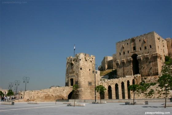 alepo ciudadela siria