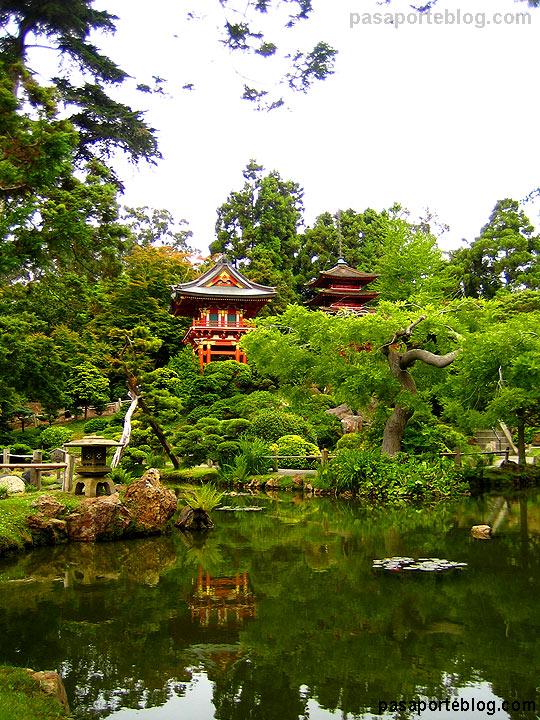 jardin te japones san francisco california viaje Estados Unidos