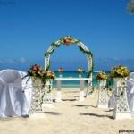 Boda en el Caribe, playa Bavaro