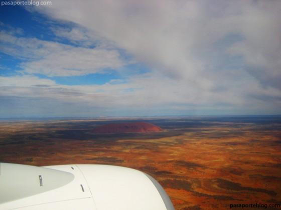 Aeropuerto de Ayers Rock (Código IATA AYQ) Uluru