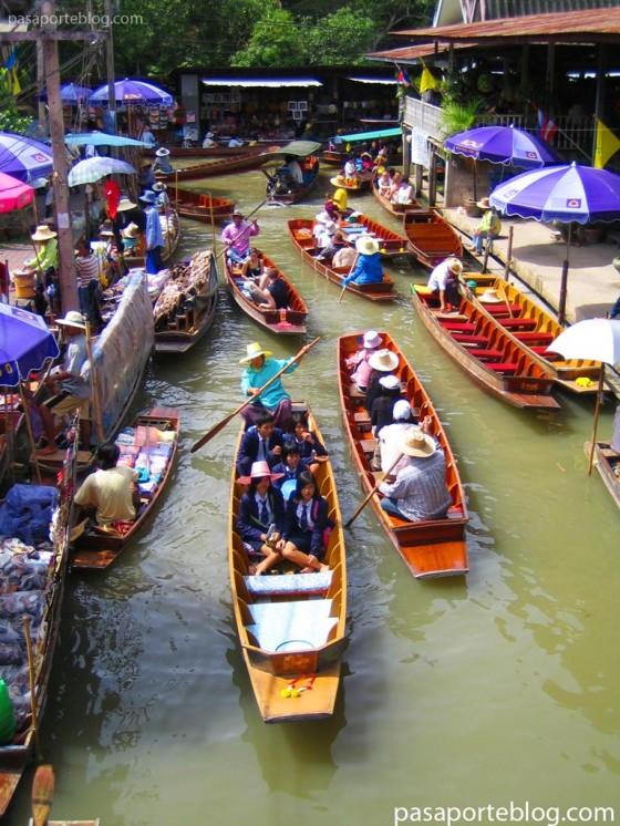 bangkok mercado flotante bangkok