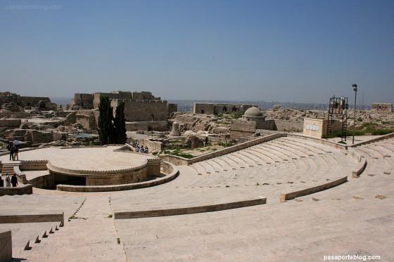 ciudadela aleppo fortaleza islamica viaje siria jordania blog