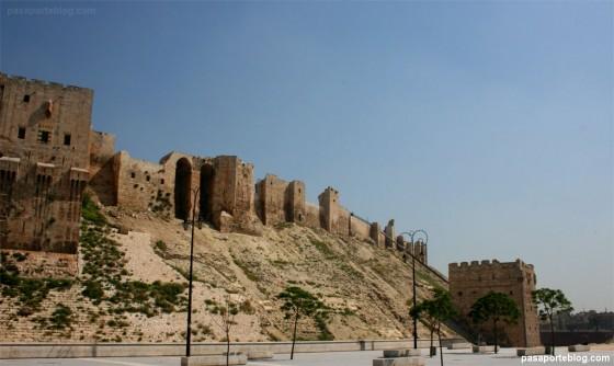 murallas fortaleza alepo siria blog viajes