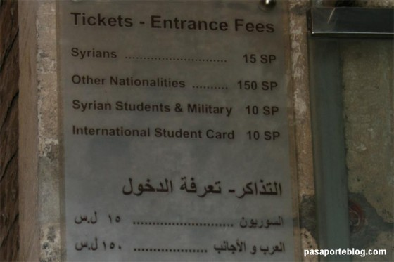tickets fortaleza aleppo arte islamico