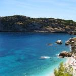 Una playa en un rincón del Mediterráneo