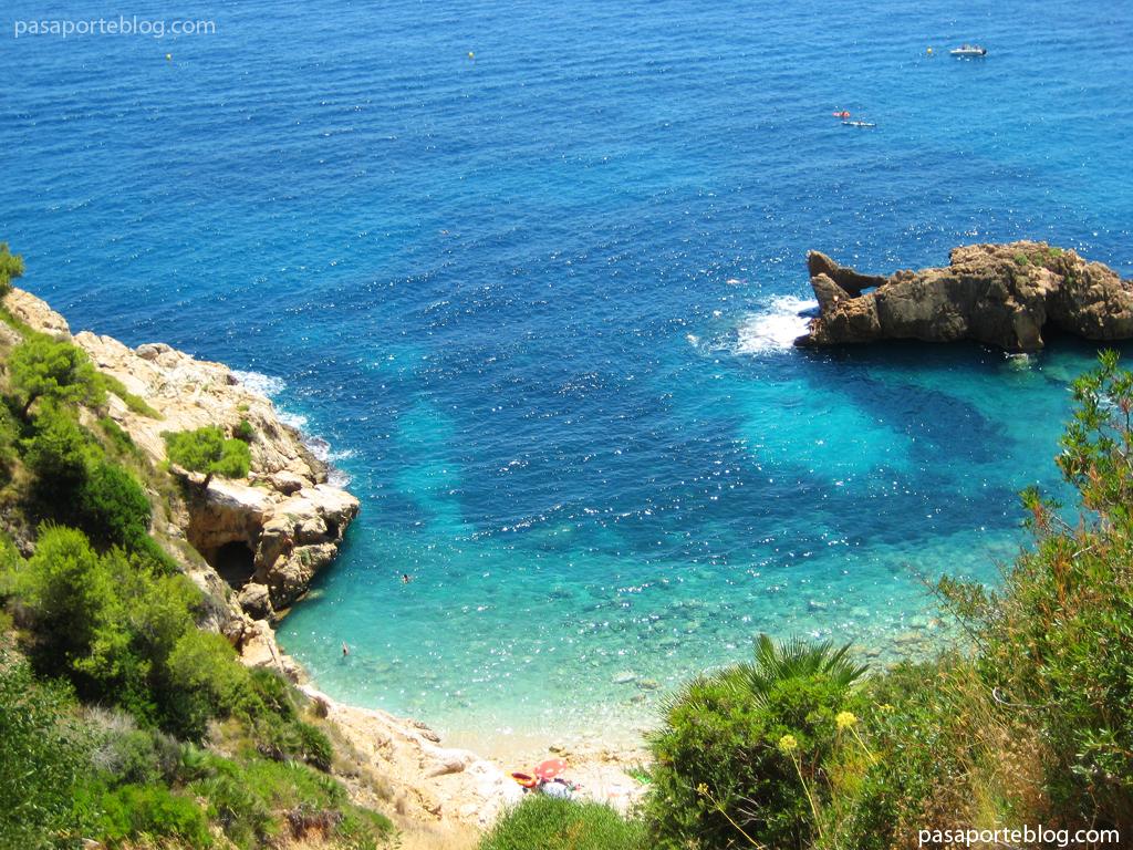 playas en el mar mediterraneo