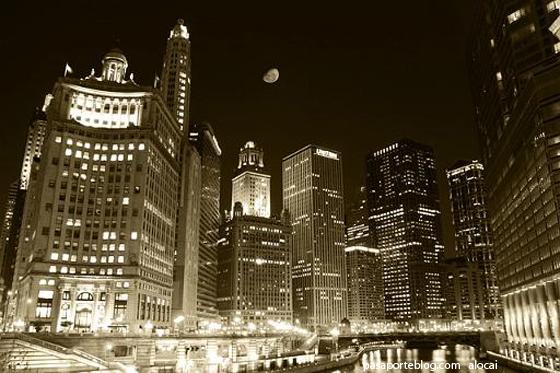 luna sobre chicago