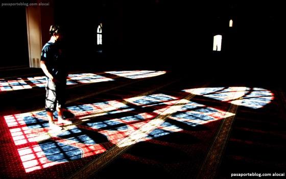 mezquita en el viaje al libano