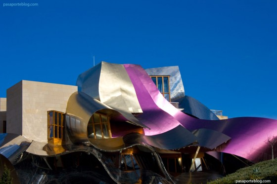 Hotel Marques de Riscal Frank Gehry