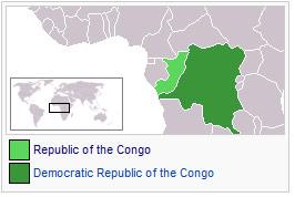 republica del congo y republica democratica del congo