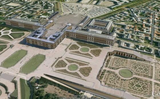 PALACIO DE VERSALLES PARIS 3D