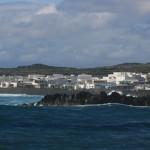 El Golfo, Lanzarote un pueblo de restaurantes a la orilla del océano Atlántico