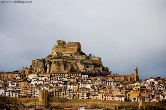 castillo de morella y muralla de morella