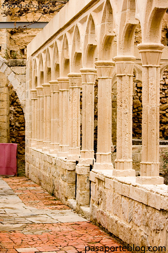 claustro castillo de morella