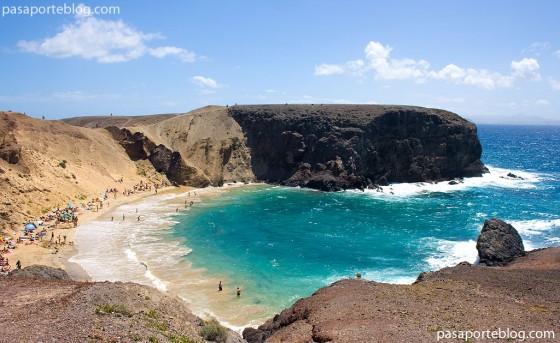 playa del papagayo isla de lanzarote