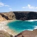 Playa del Papagayo, isla de Lanzarote, Canarias