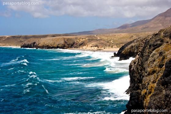 playa papagayo y parque natural lanzarote, islas canarias