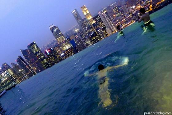 piscina mas espectacular del mundo hotel-Marina-Bay-Sands Singapur