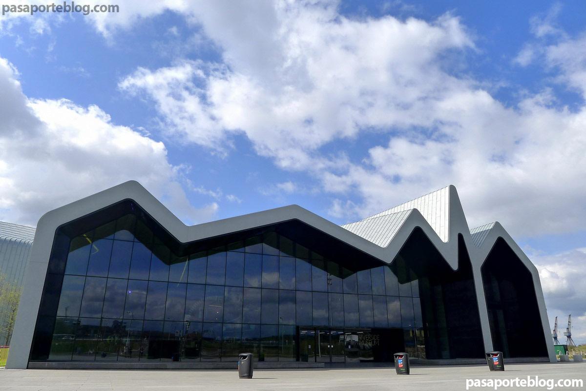 Glasgow Escocia museo Riverside