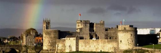 castillo de king john ciudad medieval limerick irlanda
