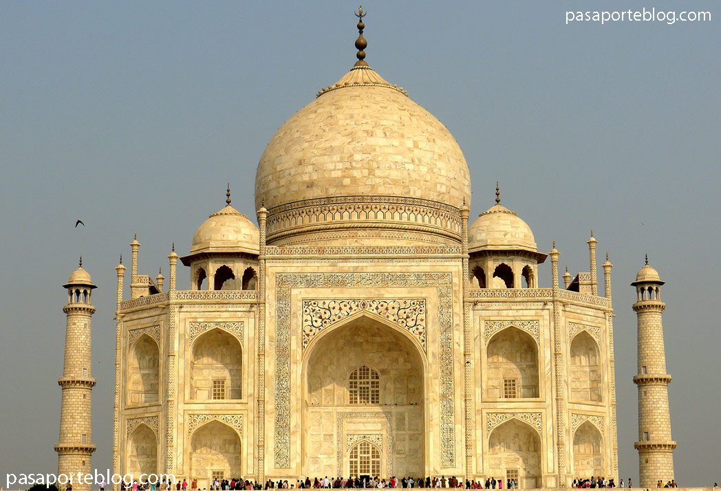 Taj Mahal, una de las siete maravillas del Mundo. Viaje a la India