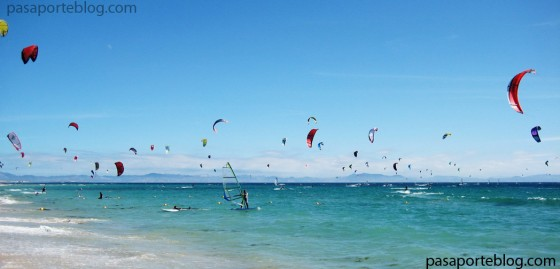 Windsurf en Tarifa, south of Spain