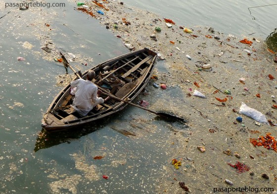 El Ganges el rio más contaminado del mundo, la india