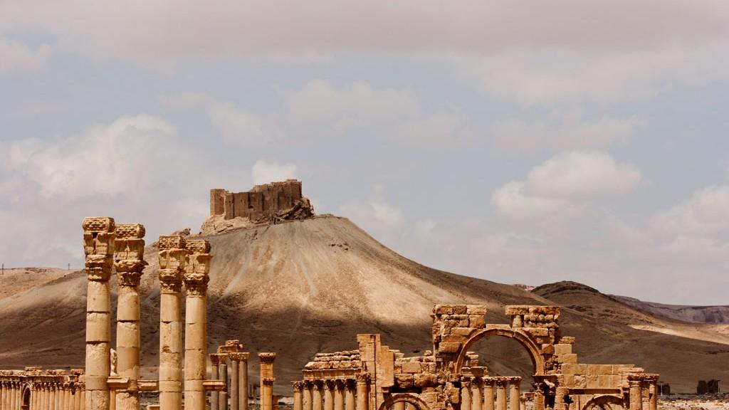 palmira y castillo arabe medieval