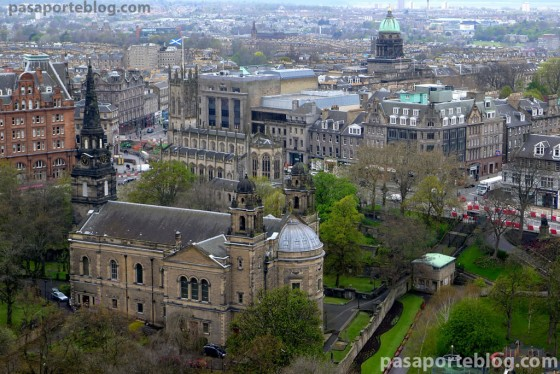 vistas desde el castillo de Edimburgo, que ver en edimburgo el primer día