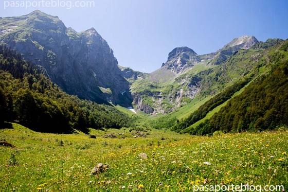 artiga de lin vall de aran pirineos