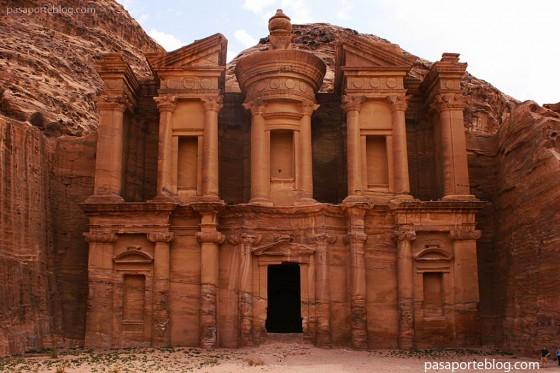 El monasterio Ad Dayr petra a viaje jordania