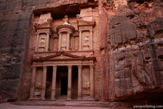 El Tesoro, ciudad de Petra, Jordania