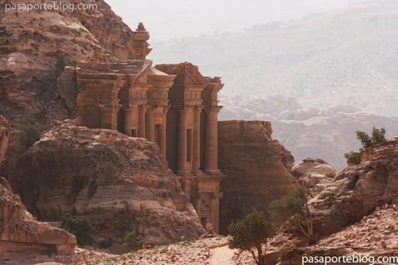 Turismo en Jordania, ciudad de Petra, el Monasterio